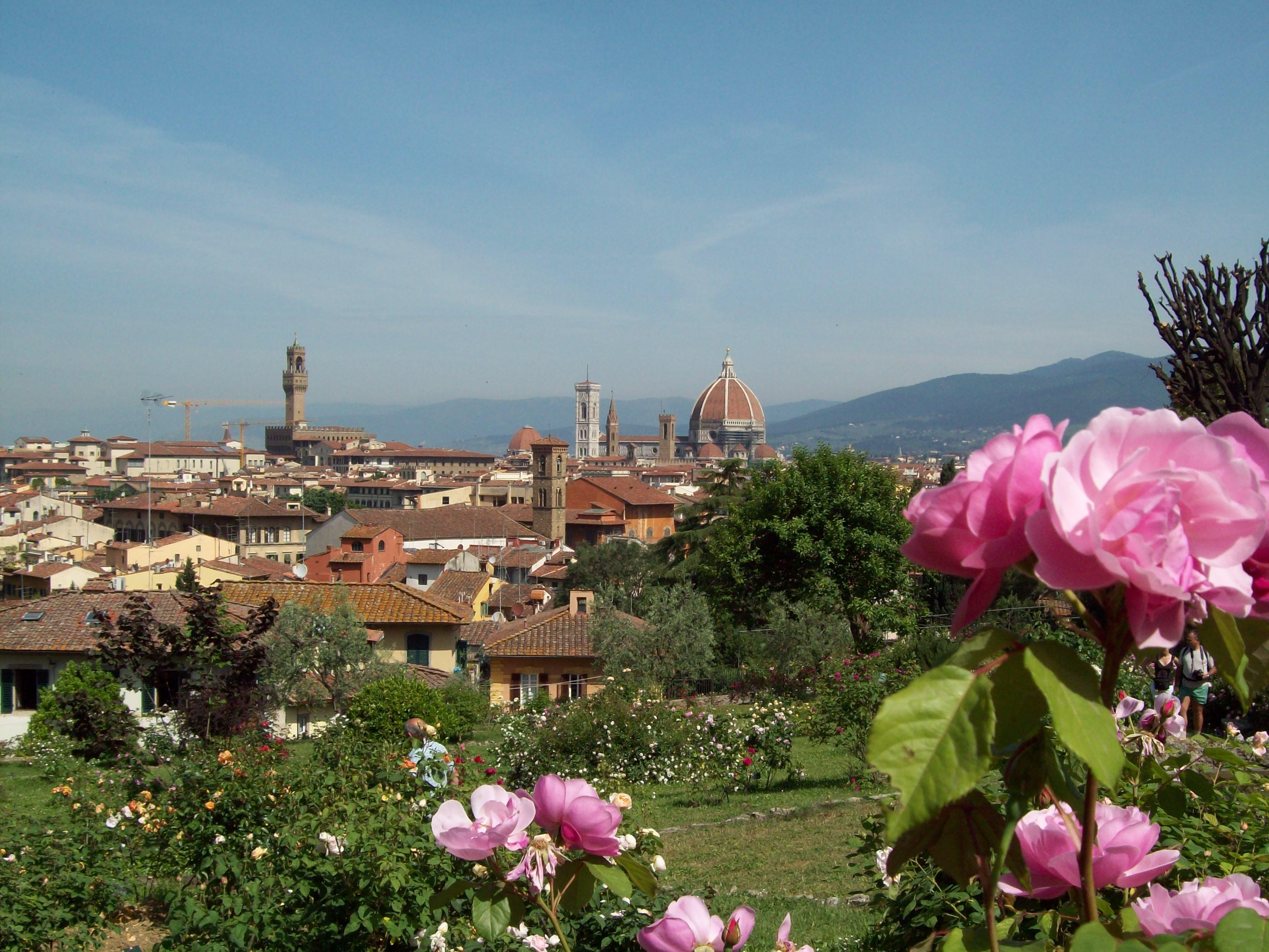 Il giardino delle rose firenze just savour - Giardino delle rose firenze ...