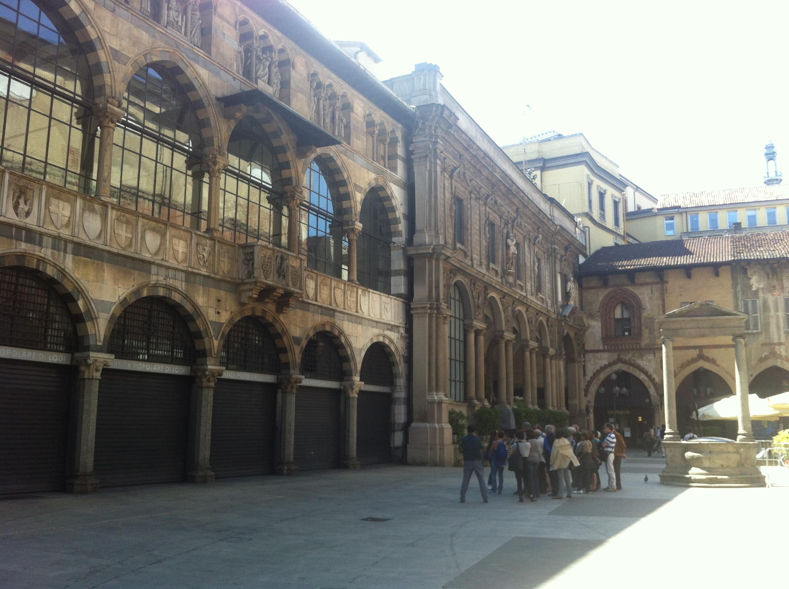 Milano, centro città particolare