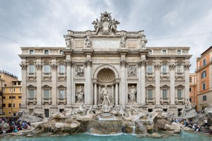 Lazio - Fontana di Trevi Roma