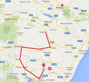 Itinerario Calanchi