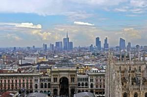 Lombardia Milano Skyline