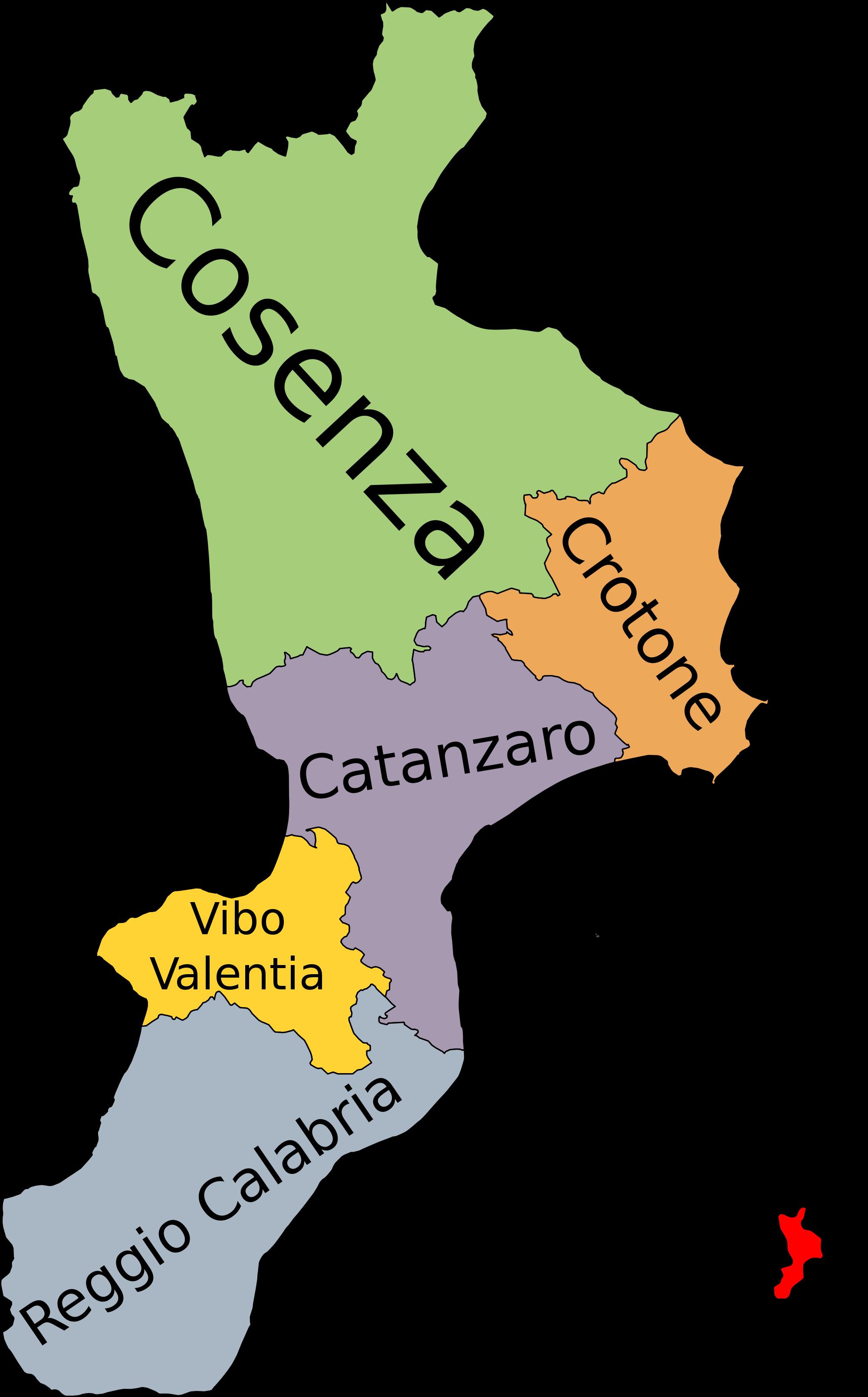 Calabria le città