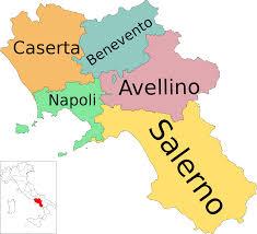 Mappa Campania
