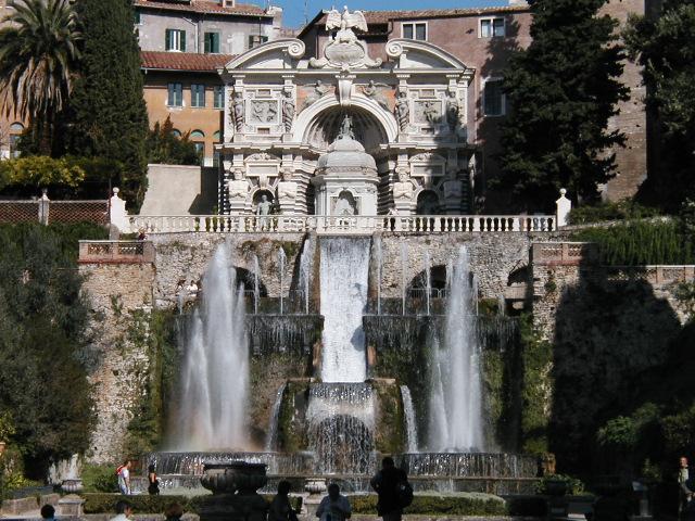 Lazio - Tivoli Villa d'Este