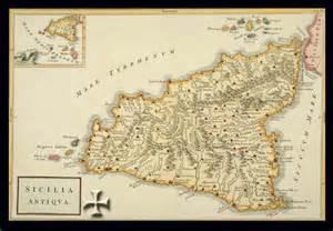 sicilia mappa antica