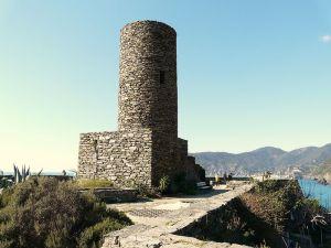 Visitare Vernazza - Castello dei Doria a Vernazza