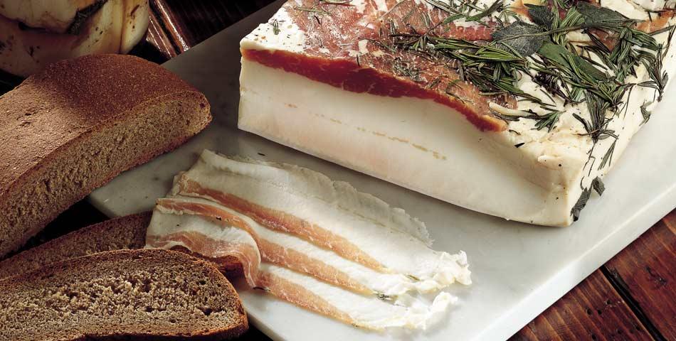 I prodotti tipici della Valle d'Aosta - il Lard d'Arnad