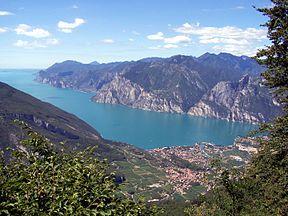 Itinerario del lago di Garda