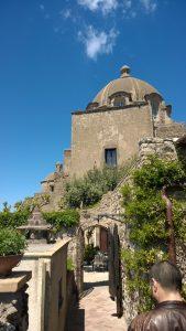 Castello Aragonese d'Ischia - La cupola della chiesa dell'Immacolata