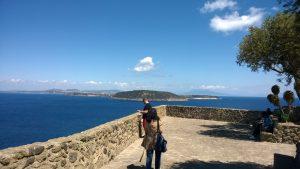 Castello Aragonese d'Ischia - Vista sul golfo dal Terrazzo degli Ulivi