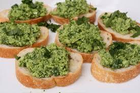 Crostini con Agliata verde monferrina