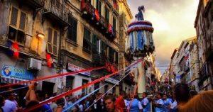 feste tradizionali della Sardegna: Candelieri Sassari