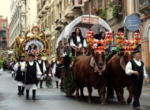 feste tradizionali della Sardegna: Sagra di Sant'Efisio - Cagliari