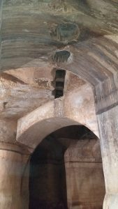 Palombaro Lungo Matera - Le Bocche per la raccolta dell'acqua