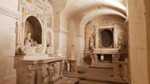 Chiese Rupestri - San Pietro Barisano - Particolare Interno