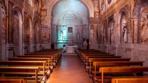Chiese Rupestri di Matera - Santa Maria della Palomba interno