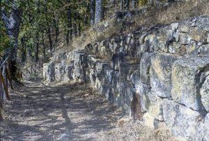 Monte Croccia - Cinta Muraria