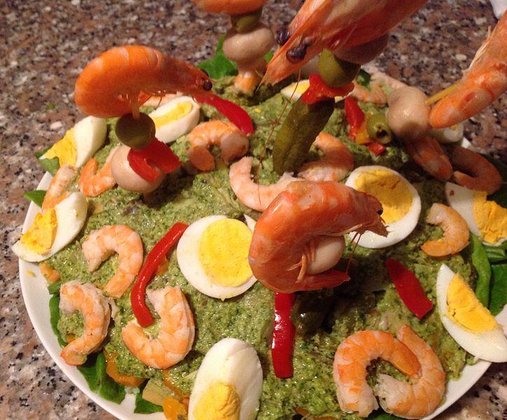piatti tipici della Liguria cappon magro