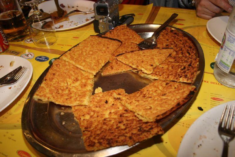 piatti tipici della liguria la farinata