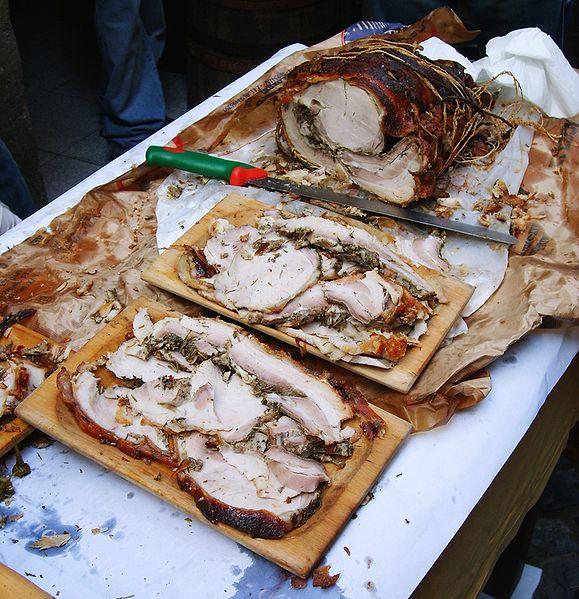 piatti tipici dell'umbria porchetta Umbria